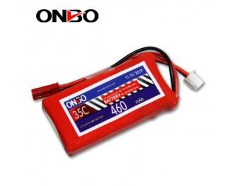 35C 3S 460mAh lipo,460mah small lipo,ONBO 3S 35C lipo,3.7V lipo battery
