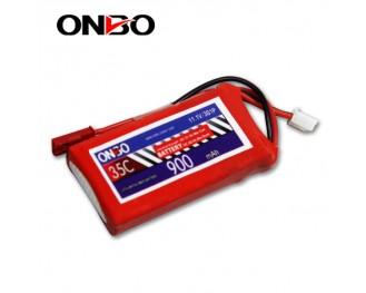 35C 3S 900mAh lipo,900mah small lipo,ONBO 3S 35C lipo,3.7V lipo battery
