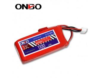 35C 3S 1100mAh lipo,1100mah lipo,ONBO 3S 35C lipo,3.7V lipo battery