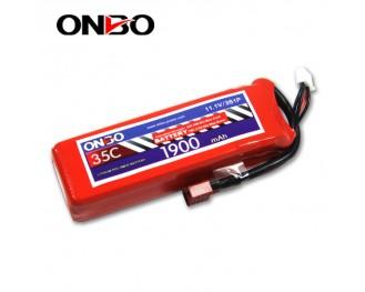 35C 3S 1900mAh lipo,1900mah lipo,ONBO 3S 35C lipo,3.7V lipo battery
