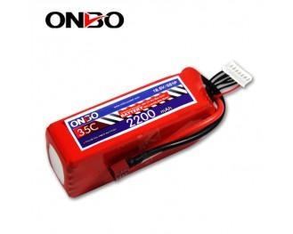 35C 5S 2200mAh lipo,2200mah lipo,ONBO 5S 35C lipo,3.7V lipo battery