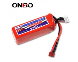 35C 6S 2200mAh lipo,2200mah lipo,ONBO 5S 35C lipo,3.7V lipo battery