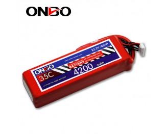 35C 6S 4200mAh lipo,4200mah lipo,ONBO 6S 35C lipo,3.7V lipo battery
