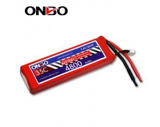 35C 2S 4800mAh lipo,4800mah lipo,ONBO 2S 35C lipo,3.7V lipo battery