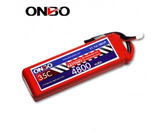 35C 3S 4800mAh lipo,4800mah lipo,ONBO 3S 35C lipo,3.7V lipo battery