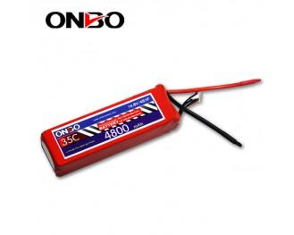 35C 4S 4800mAh lipo,4800mah lipo,ONBO 4S 35C lipo,3.7V lipo battery