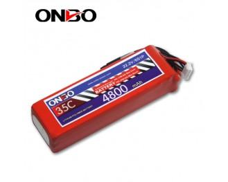 35C 6S 4800mAh lipo,4800mah lipo,ONBO 6S 35C lipo,3.7V lipo battery