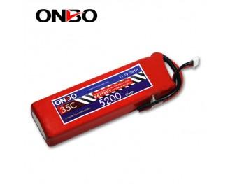 35C 3S 5200mAh lipo,5200mah lipo,ONBO 3S 35C lipo,3.7V lipo battery