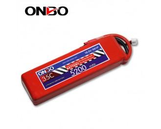 35C 5S 5200mAh lipo,5200mah lipo,ONBO 5S 35C lipo,3.7V lipo battery