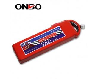35C 6S 5200mAh lipo,5200mah lipo,ONBO 6S 35C lipo,3.7V lipo battery