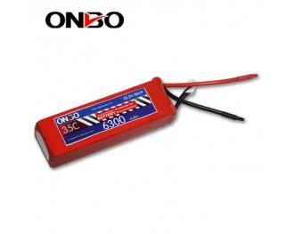 35C 6S 6300mAh lipo,6300mah lipo,ONBO 6S 35C lipo,3.7V lipo battery