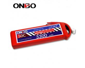 50C 2S 3300mAh lipo,3300mah lipo,ONBO 2S 50C lipo,3.7V lipo battery