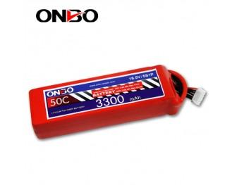 50C 5S 3300mAh lipo,3300mah lipo,ONBO 5S 50C lipo,3.7V lipo battery
