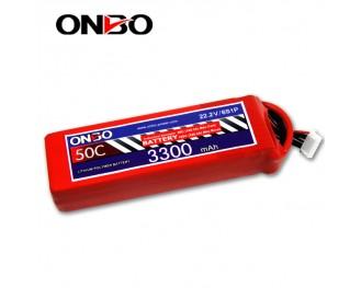 50C 6S 3300mAh lipo,3300mah lipo,ONBO 6S 50C lipo,3.7V lipo battery