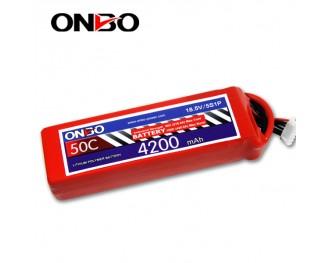 50C 5S 4200mAh lipo,4200mah lipo,ONBO 5S 50C lipo,3.7V lipo battery