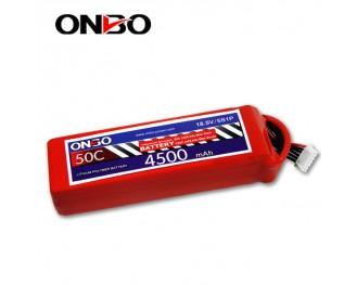 50C 5S 4500mAh lipo,4500mah lipo,ONBO 5S 50C lipo,3.7V lipo battery