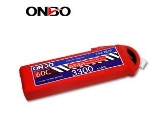 60C 2S 3300mAh lipo,3300mah lipo,ONBO 2S 60C lipo,3.7V lipo battery