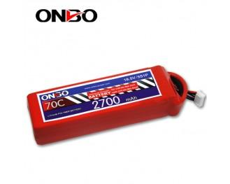 70C 5S 2700mAh lipo,2700mah small lipo,ONBO 5S 70C lipo,18.5V lipo battery