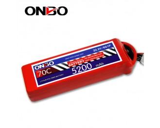 70C 6S 5200mAh lipo,5200mah lipo,ONBO 6S 70C lipo,22.2V lipo battery