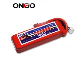 ONBO 80C 5S 18 5V 1900mAh lipo-ONBO