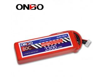 80C 5S 3300mAh lipo,3300mah lipo,ONBO 5S 80C lipo,18.5V lipo battery