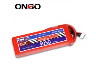 80C 5S 4050mAh lipo,4050mah lipo,ONBO 5S 80C lipo,18.5V lipo battery