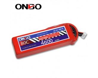 80C 6S 4600mAh lipo,4600mah lipo,ONBO 6S 80C lipo,22.2V lipo battery