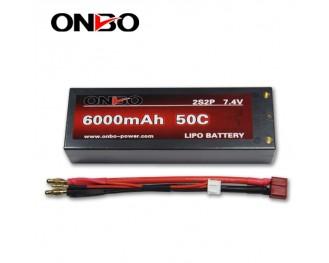 Traxxas lipo battery,1:8 rc car lipo pack,Drifting Car Battery,50C black hardcase lipo,black hardcase lipo