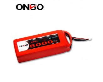 DJI S800 Lipo Battery,DJI S800 EVO Lipo Battery,ONBO 8000mAh 22.2V 25C 6S1P Lipo Battery pack,Walkera QR X800 Battery,Tarot IRON MAN 1000 Lipo Battery