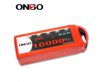 ONBO 10000mAh Lipo Battery fit for DJI S800,Multi Rotors DJI S800 Lipo Battery,Walkera QR X800 Battery,Trex 80 Lipo Battery,Tarot IRON MAN 1000 Lipo Battery