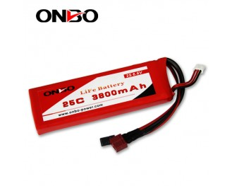 25C 3800mAh 2S LiFePO4 battery, Onbo 3800mAh 6.6V LiFe, Onbo 25C LiFePO4 battery, 6.6V 3800mAh LiFe, 25C 3800mAh RX LiFe battery