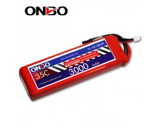 35C 3S 3000mAh lipo,3000mah lipo,ONBO 3S 35C lipo,3.7V lipo battery
