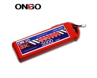 35C 4S 3000mAh lipo,3000mah lipo,ONBO 4S 35C lipo,3.7V lipo battery