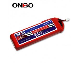35C 5S 3000mAh lipo,3000mah lipo,ONBO 5S 35C lipo,3.7V lipo battery