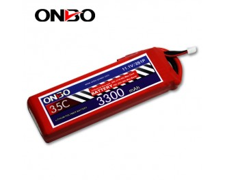 35C 3S 3300mAh lipo,3300mah lipo,ONBO 3S 35C lipo,3.7V lipo battery