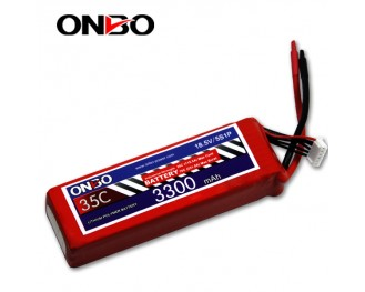 35C 5S 3300mAh lipo,3300mah lipo,ONBO 5S 35C lipo,3.7V lipo battery
