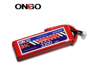 35C 6S 3300mAh lipo,3300mah lipo,ONBO 6S 35C lipo,3.7V lipo battery