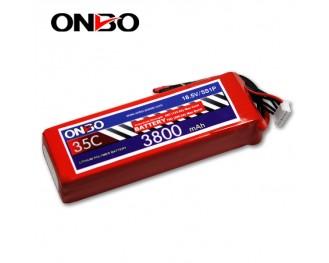 35C 5S 3800mAh lipo,3800mah lipo,ONBO 5S 35C lipo,3.7V lipo battery