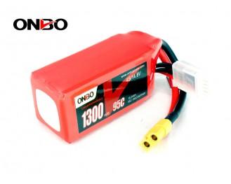 ONBO 1300mAh 4S 14.8V 95C Battery Pack
