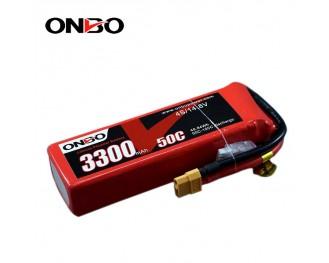 50C 4S 3300mAh lipo,3300mah lipo,ONBO 4S 50C lipo,3.7V lipo battery