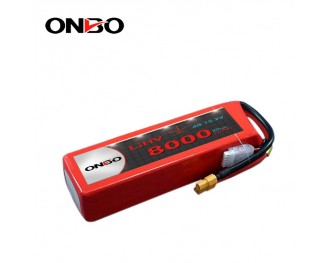 ONBO 8000mAh LiHV 15.2V 4S1P Lipo Battery special design for SwellPro Splash Drone3/3+